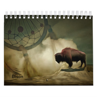 Calendrier Mural Bison