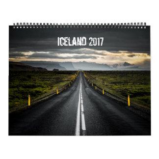 Calendrier Mural L'Islande