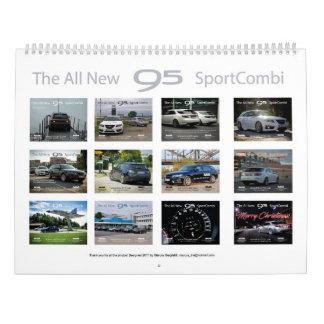 Calendrier Mural Saab 9-5 NG Sportcombi Calendar 2018
