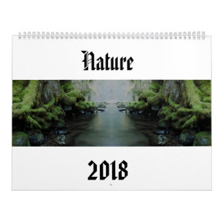 Calendrier Nature 2018