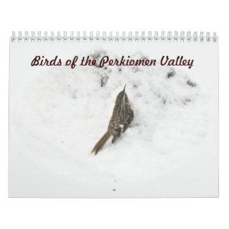 Calendrier - oiseaux de la vallée de Perkiomen