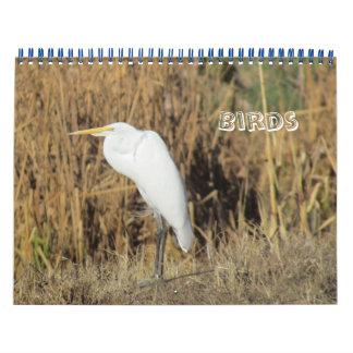 Calendrier Mural Calendrier - oiseaux pendant la nouvelle année