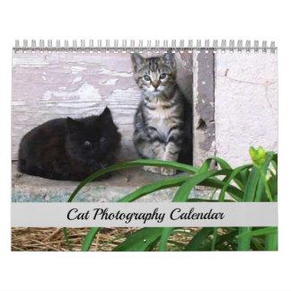 Calendrier original de photographie de chat de