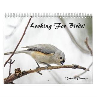 Calendrier - recherche des oiseaux ?