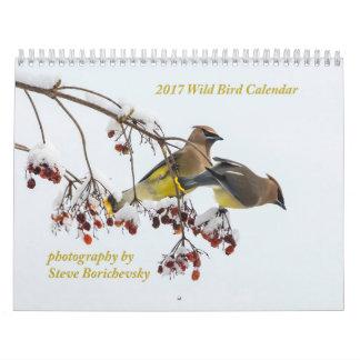 Calendrier sauvage de l'oiseau 2017