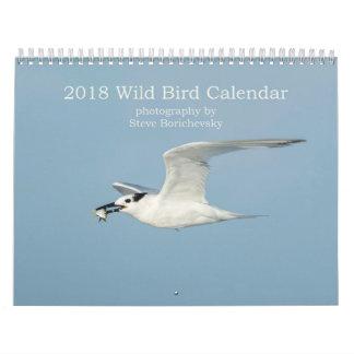 Calendrier sauvage de l'oiseau 2018