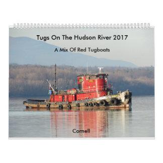 Calendrier Tractions subites sur le fleuve Hudson 2017