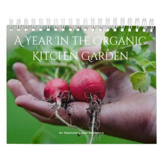Calendrier Une année dans le jardin organique