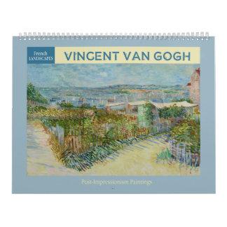 Calendrier Van Gogh aménage 2018 en parc