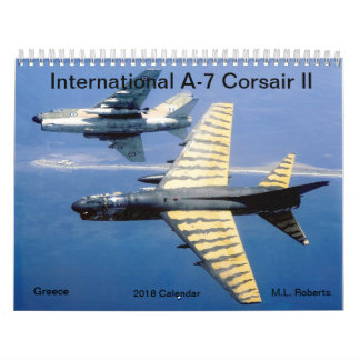 Calendriers Corsaire A-7 international II