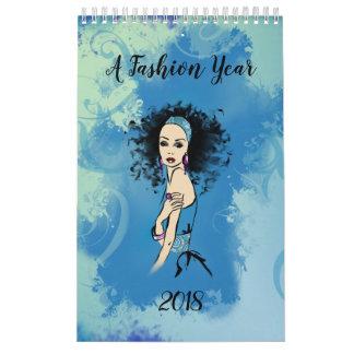 Calendriers Muraux A Fashion Year