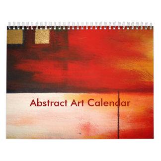 Calendriers Muraux Art abstrait 2018