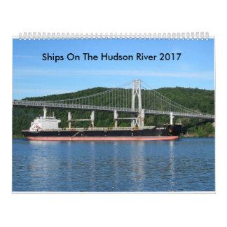 Calendriers Muraux Bateaux sur le fleuve Hudson 2017