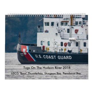 """Calendriers Muraux USCG """"aboie"""" sur le fleuve Hudson 2018"""