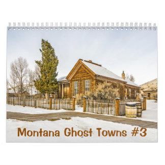 Calendriers Muraux Villes fantômes #3 du Montana