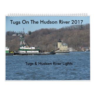 Calendriers Tractions subites sur le fleuve Hudson 2017