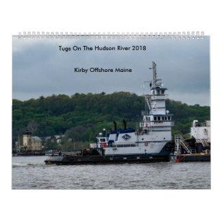 Calendriers Tractions subites sur le fleuve Hudson---Kirby en