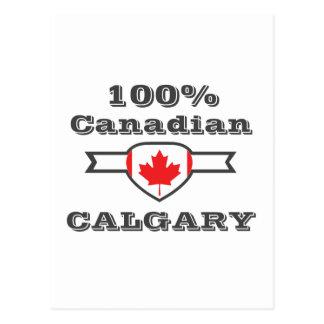 Calgary 100% carte postale