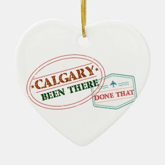 Calgary là fait cela ornement cœur en céramique