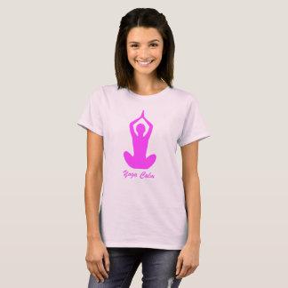 Calme de yoga de chemise de yoga t-shirt
