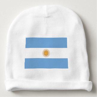 Calotte de bébé de drapeau de l'Argentine Bonnet De Bébé