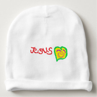 """Calotte de bébé de """"Jésus"""" Bonnet De Bébé"""