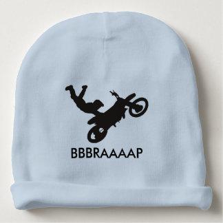 Calotte de bébé de vélo de saleté bonnet de bébé