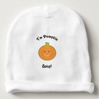 Calotte épicée de bébé du citrouille | bonnet de bébé