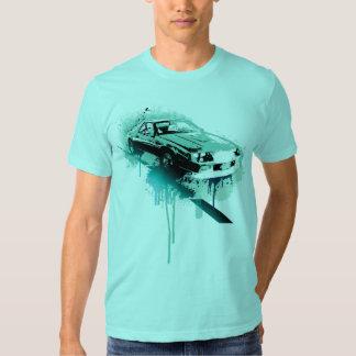 Camaro (cyan) t-shirts