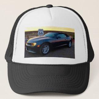 Camaro sur l'itinéraire 66 casquette