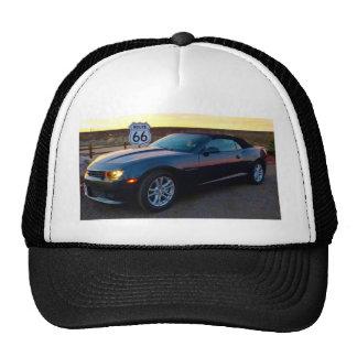 Camaro sur l'itinéraire 66 casquettes de camionneur