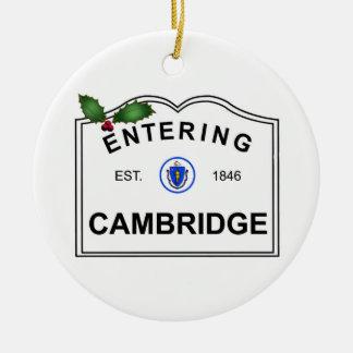Cambridge mA Ornement Rond En Céramique