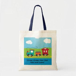Cambuse de train de Choo Choo d'enfants Sac En Toile Budget