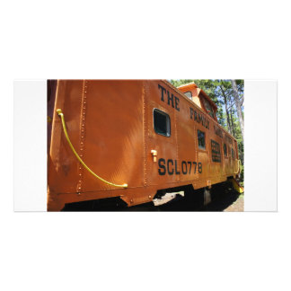 Cambuse orange photocarte