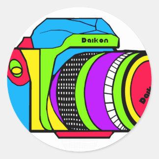 Caméra couleur adhésifs ronds