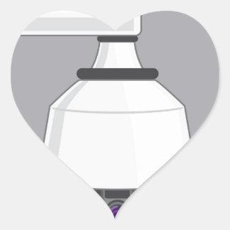 Caméra de sécurité sticker cœur