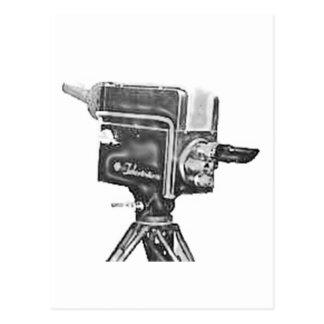 caméra de télévision de studio d'émission des carte postale