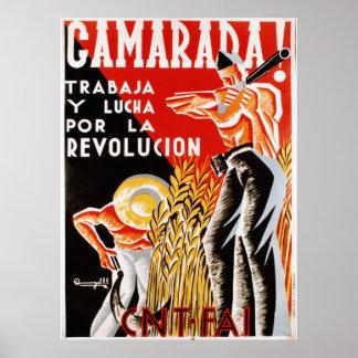 Camerada ! cartel [affiche de camarades] posters