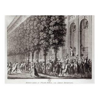 Camille Desmoulins parlant chez le Palais Carte Postale