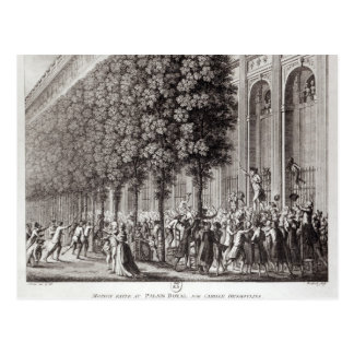 Camille Desmoulins parlant chez le Palais Cartes Postales