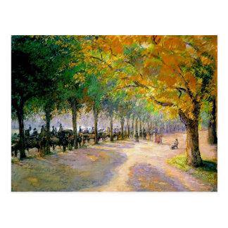 Camille Pissarro- Hyde Park, Londres Carte Postale