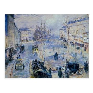 Camille Pissarro- Le Boulevard De Clichy Carte Postale