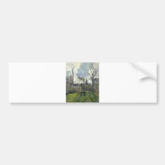 Camille Pissarro - tour de Bell de Bazincourt 1885 Autocollant Pour Voiture