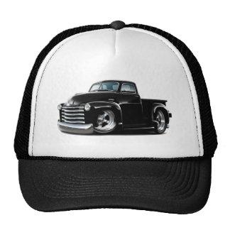Camion 1950-52 noir de Chevy Casquettes De Camionneur