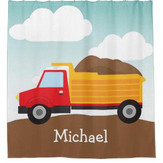 Camion à benne basculante personnalisé, rideau en