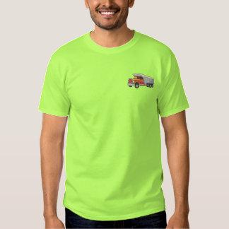 Camion à benne basculante  t-shirt brodé