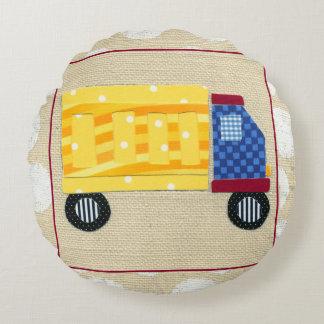Camion à la benne basculante de l'enfant par coussins ronds
