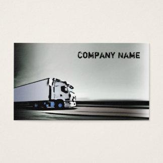 Camion blanc et noir simple sur la carte de route