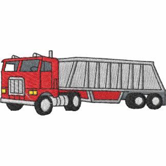 Camion de gravier