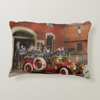 Camion de pompiers - l'escadron 1911 de vol coussins décoratifs